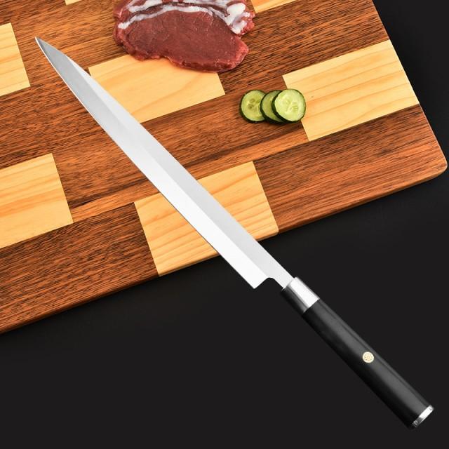 10寸270 mmヤナギの刃の刀のマグロの刺身のステンレスの包丁