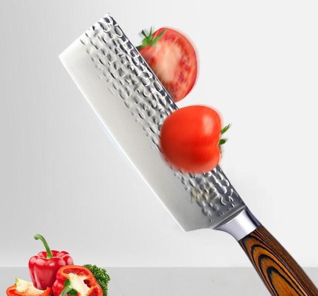 金10号ダマスカスの8寸308 mmの魚の刺身の刀は肉の刀を切って骨のステンレスの包丁を切ります。
