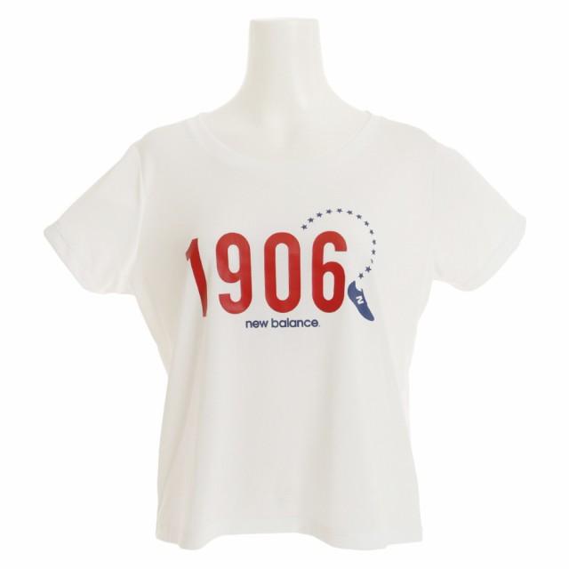 d15be1b17f918 ニューバランス(new balance)ルーズグラフィック 半袖Tシャツ JWTP8010WT (Lady's)