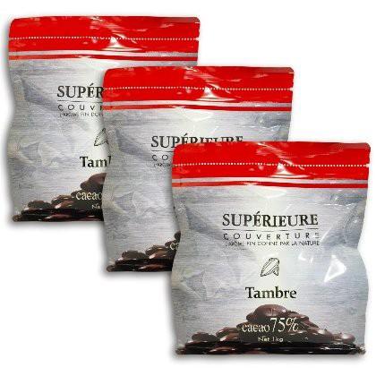 大東カカオ スペリオール タンブル 1kg 1000g × 3袋セット カカオ分:75%