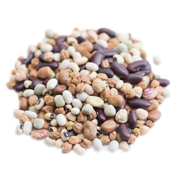 送料無料 ミックスビーンズ 1kg 乾燥豆 業務用 乾物 豆 Chickpea 地中海式料理 レッドキドニー ひよこ豆 kabuli Chana フムス