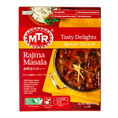 MTR ダールフライ Dal Fry 300g 1袋【2人前】レトルトカレー 豆 ダール インドカレー 業務用 スパイス