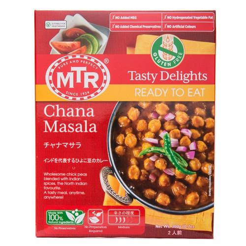 【送料無料】MTR チャナマサラ Chana Masala 300g 1袋【2人前】レトルトカレー 豆 ダール インドカレー ゆうパケット