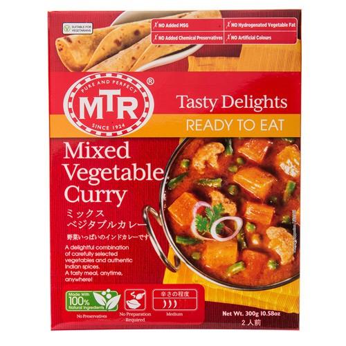 【送料無料】MTR ミックス ベジタブル カレー Mixed Vegetable Curry 300g 10袋