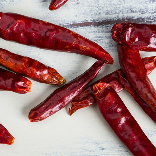 レッドチリ ホール 1kg / 1000g 業務用 Red Chile Whole 原型 カイエンペッパー 唐辛子 トウガラシ 鷹の爪 スパイス【送料無料】