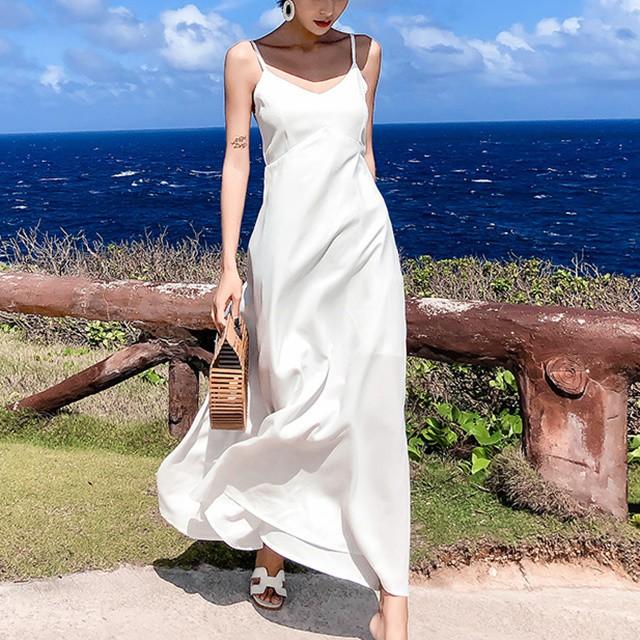d93f9d79e78 ワンピース リゾート ワンピース ハワイ ロングワンピース 白 白ロングワンピース 沖縄リゾートワンピース 可愛い 夏ワンピース