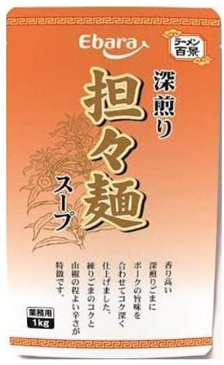 エバラ ラーメン百景 深煎り担々麺スープ 1kg 送料無料 即日発送