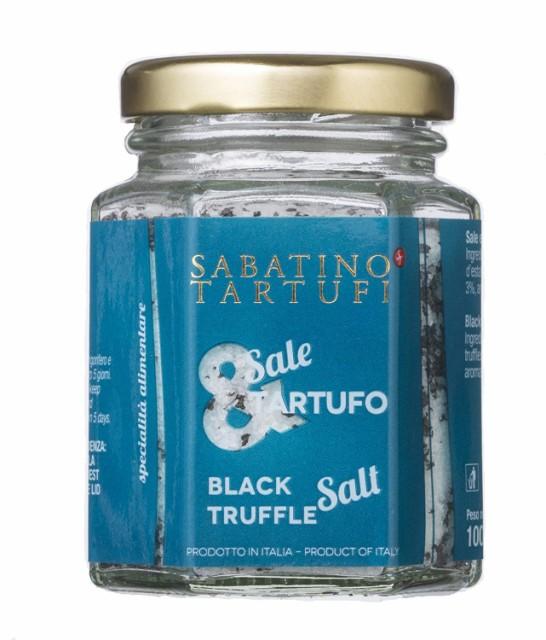 送料無料 人気 SABATINO TARTUFI サバティーノ・トリュフ社 黒トリュフソルト 100g トリュフ塩