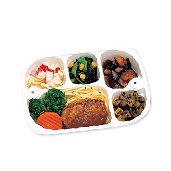 【冷凍】いきいき御膳ハンバーグ215g[腎臓病食/低たんぱく食品/たんぱく調整]