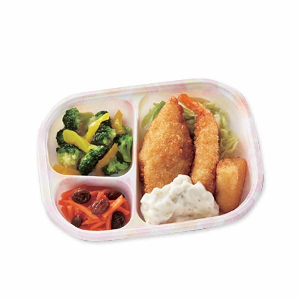 【冷凍】いきいき御膳miniミックスフライ150g[腎臓病食/低たんぱく食品/たんぱく調整]
