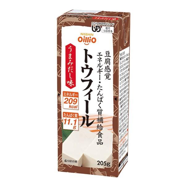 介護食 トウフィール うまみだし味 205g×24本 区分3 [やわらか食/介護食品]