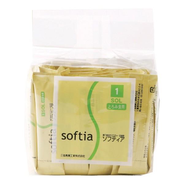 とろみ剤 ニュートリー ソフティア1 SOL とろみ食用スティック 3g×50包 [介護食/介護用品]