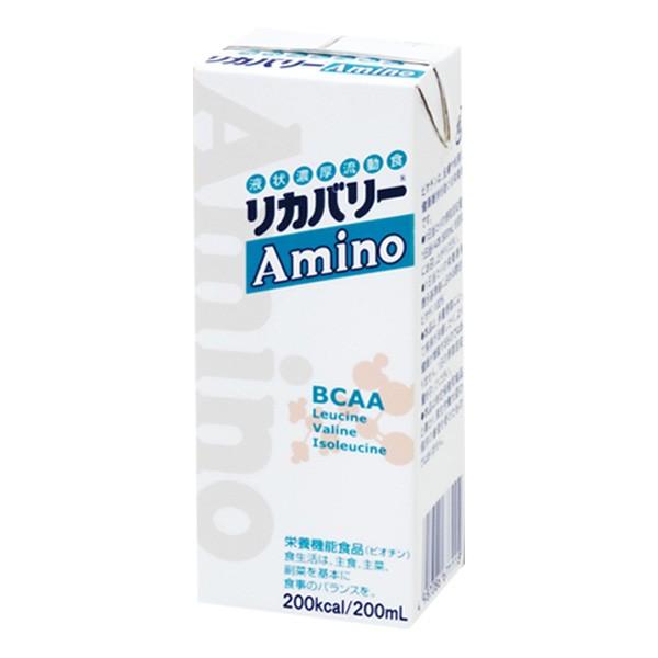 【取寄】介護食 リカバリーAmino 200ml×24本 【2ケース購入で送料無料】[高カロリー]