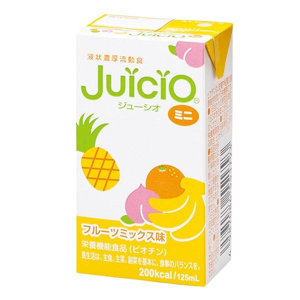 【取寄】流動食 ジューシオミニ JuiciO フルーツミックス味 125ml×12本入 [高カロリー]