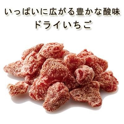 安心・安全品質 純粋ドライいちご50g 農薬不使用 イチゴ 苺 ストロベリー いちごミルク ジャム ドライフルーツ 砂糖不使用 無添加 無漂