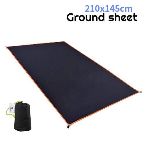 グランドシート 210×145cm アウトドア キャンプ レジャーシート タープ サンシェード 日よけ