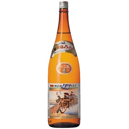 角谷文治郎商店 三州三河みりん 純もち米仕込み 1.8L 瓶 (本みりん)