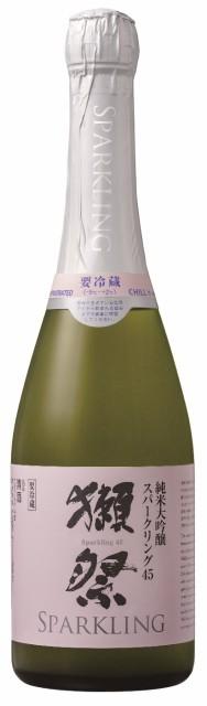 獺祭45(だっさい)純米大吟醸スパークリング720ml チルド便発送商品