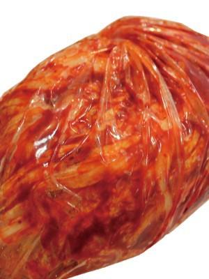 《冷蔵》 手作り ノーカット白菜キムチ 1kg束