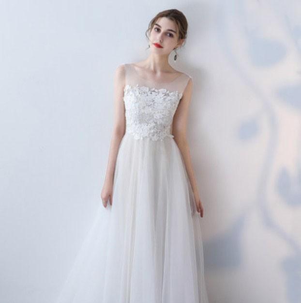 75ef7fda0c610 大人気 ウェディングドレス 白 花嫁 カラードレス 大きいサイズあり 結婚式 二次会 ドレス ロングドレス