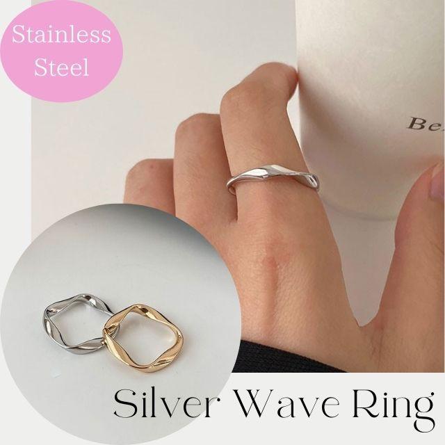 送料無料 指輪 ピンキーリング リング 指輪 ピンキーリング 重ねづけ おしゃれ オシャレ プチプラ 多角形 錆びない ステンレス 金色 細い