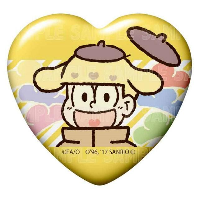 【十四松×ポムポムプリン】 おそ松さん×Sanrio Characters トレーディング缶バッジ Vol.2