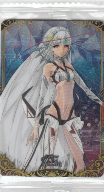 【13.セイバー/アルテラ (R レア) 】Fate/Grand Order フェイト/グランドオーダー ウエハース6