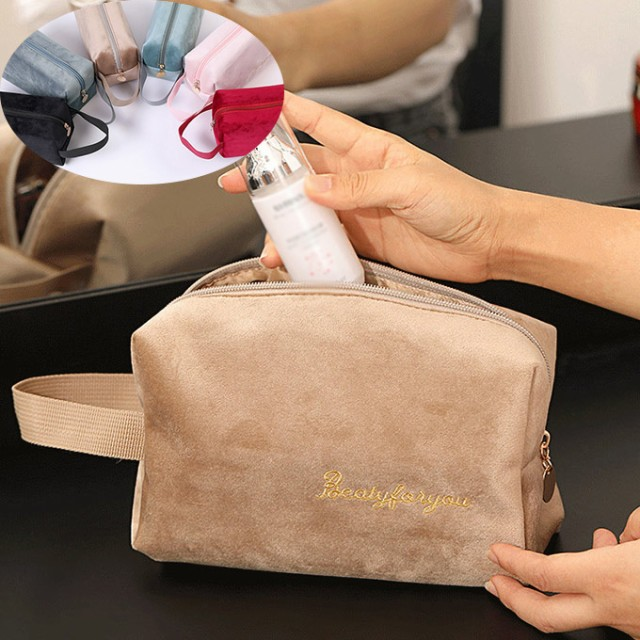 2020新作 ベルベット ミニボックス ポーチ コスメ バッグ アクセサリー 化粧品 ポーチ 小物収納 アクセサリーポーチ 収納 ケース トラベ