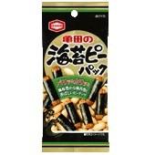 亀田製菓 海苔ピーパック 42g 10袋 海苔巻き のりまき せんべい おつまみ ケース まとめ買い
