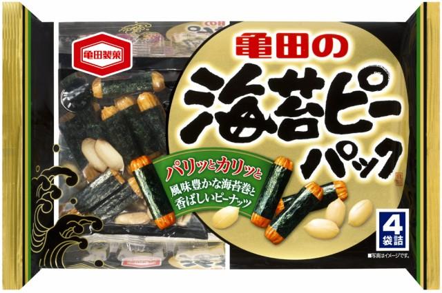 亀田製菓 海苔ピーパック 89g 海苔巻き のりまき せんべい おつまみ