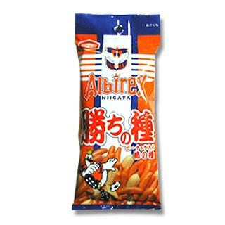 亀田製菓 アルビレックス亀田の勝ちの種 68g 10袋 柿の種 柿ピー ケース まとめ買い ご当地