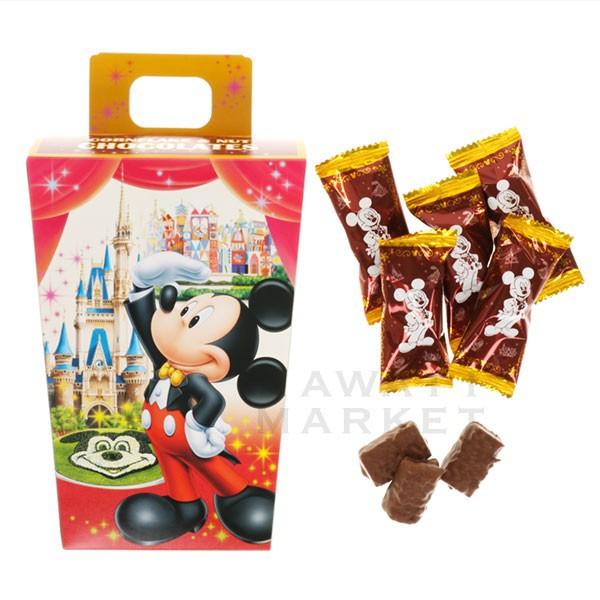 チョコレート 紙箱 ミッキーマウス ミニーマウス お菓子 小分け ディズニーリゾート お土産 プレゼント 子供の日 茶菓子 TDL