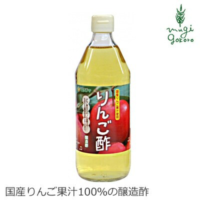 酢 マルシマ りんご酢 500ml 正規品 国内産 無添加 オーガニック 無農薬 有機 ナチュラル 天然 純正食品マルシマ