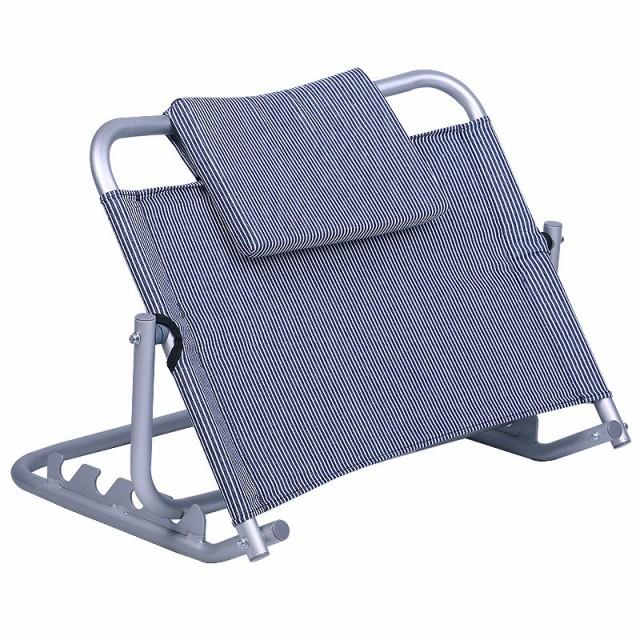 【在庫あり・敬老・介護・福祉・送料無料】ベッド用背もたれ リクライニングチェア 4段階調節 座椅子 こたつ座椅子 折り畳み 洗える バッ