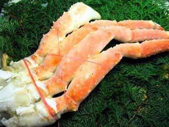 超特大・ボイルたらば蟹【10L】一肩2.2kg