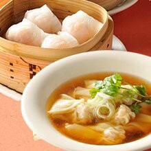 横浜中華街の点心セット えびワンタン えび蒸し餃子 中華点心 菜香 スープ ギョーザ 手作り お取り寄せ 産直 グルメ