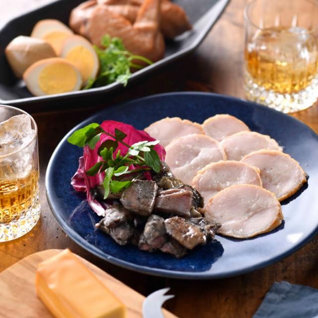 鶏炭火焼と燻製のセット ツレヅレハナコさんおすすめ! おつまみ アテ 肴 宮崎 産直 グルメ お取り寄せ