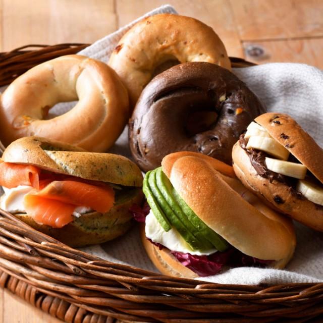 北海道産ゆめちから100% お試しベーグルセット パン 無添加 トライベッカ・ベーカリー 産直 お取り寄せ グルメ