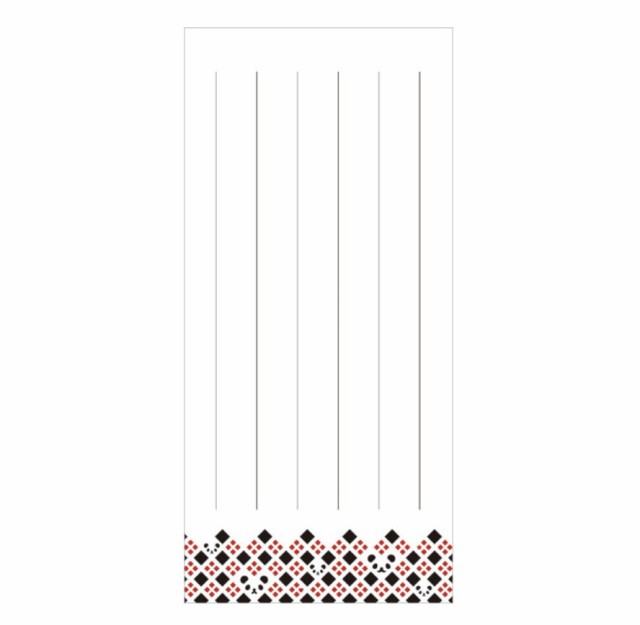 komon+ 和紙一筆箋 縦書き (補充用) パンダ格子 パンダグッズ 和雑貨 C08 C09