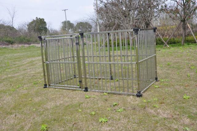 ドッグハウス DFS-C1マルチサークルハウス 屋外用 [犬小屋 大型犬]ステンレス製