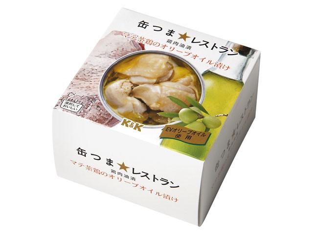 国分 K&K 缶つま☆レストラン マテ茶鶏のオリーブオイル漬け 150g