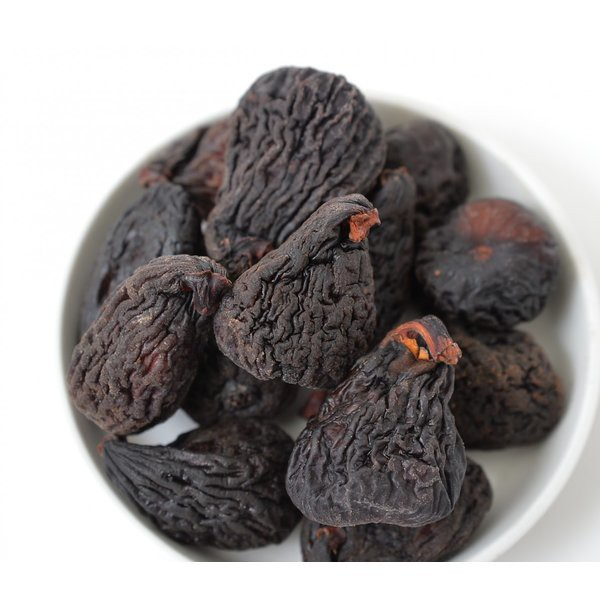 黒イチジク (アメリカ産) 1kg 保存料無添加 便利なチャック袋入り グルメ みのや
