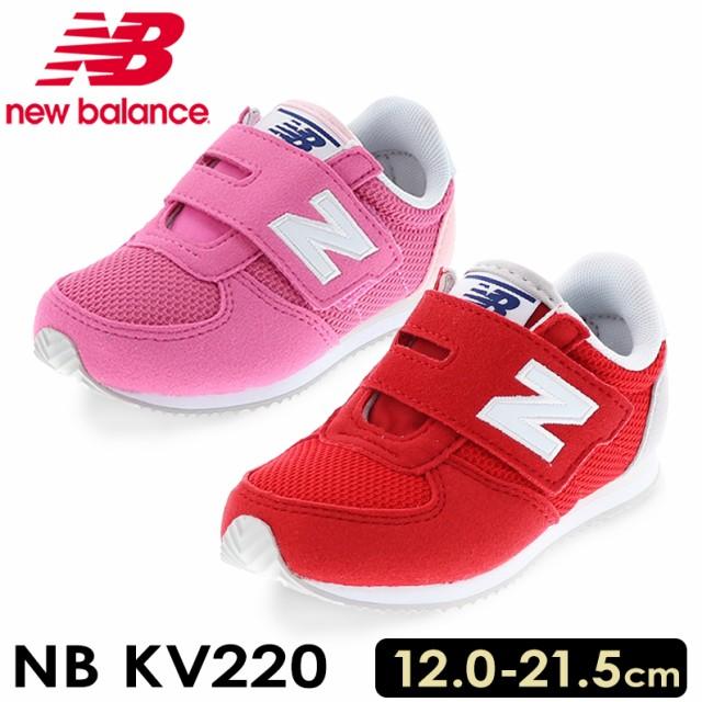 2a03260f713f7 new balance ニューバランス キッズ スニーカー KV220 RED/WHITE レッド/ホワイト PINK ピンク NB KV220  ・商品コード:KV220 ・品番:NB KV220 ・カラー:RED/WHITE ...