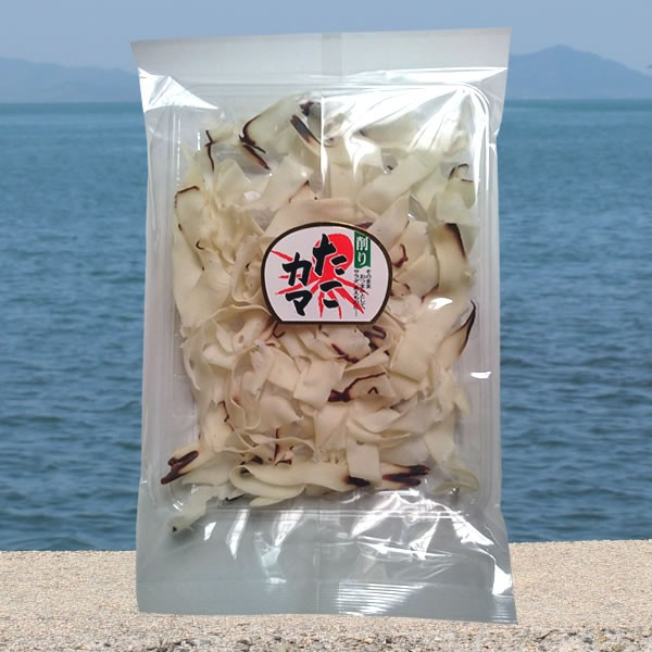 削り たこカマ 80g 小豆島 瀬戸内 海産 たこ タコカマ 珍味 おつまみ