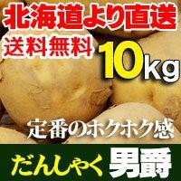 男爵 だんしゃく10kg じゃがいも 北海道産 ジャガイモ
