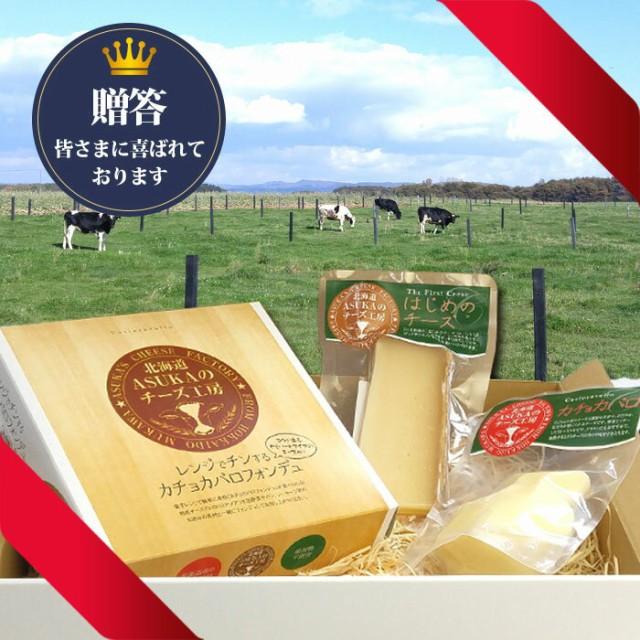 チーズ ギフト セット 北海道【カチョカバロ フォンデュ セット はじめのチーズ入り】ナチュラルチーズセット ASUKAのチーズ工房 無添加