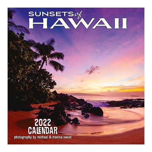 【ハワイアン カレンダー 2022年】2022 デラックスハワイアン壁掛けカレンダー ハワイアンアート 壁掛け ポスター 写真 アート 風景 絶景