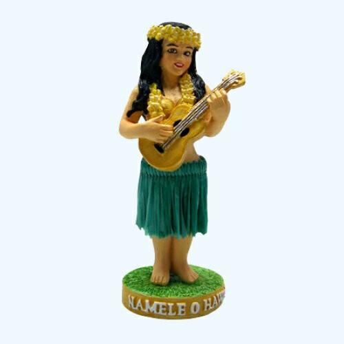 【フラドール】(ナメレ/ウクレレ)/ハワイアン人形・フィギュア・おもちゃ/ダッシュボードフラドール/ハワイアン雑貨・お土産