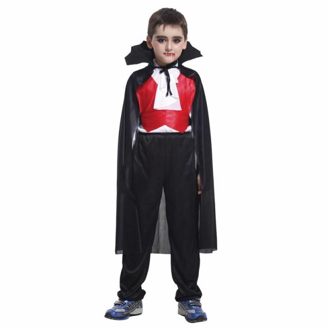 977ffbd3bf5a5 ハロウィン バンパイア ドラキュラ 吸血鬼 コスプレ 仮装衣装 ハロウィーン クールヴァンパイア 子供用 子供服