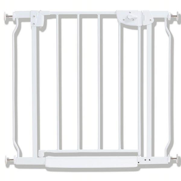 ペットゲート ベビーゲートネージュ2DSP ホワイト スチールゲート ネージュ 片手操作 送料無料 ゲート フェンス ペットフェンス